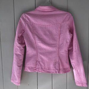 Tommy Hilfiger Jackets & Coats - Tommy Hilfiger Pink Pinstripe Blazer